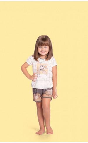Pijama Curto Baby Girl Instabear