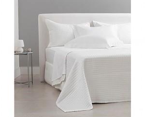 Jogo de cama queem cetim 300 fios buddemeyer bud vision new colors 100% algodão penteado branco 4 peças