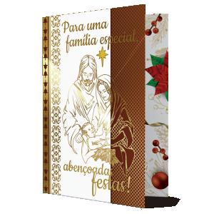 Cartão Que a celebração desta Natal faça surgir... - MB-003
