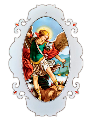 Medalhão São Miguel Arcanjo - MSG-031
