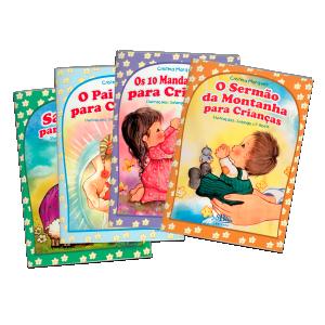 Kit Livros - Orações Para Crianças - 4 Unidades - LIV-017