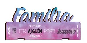 Placa Decorativa de Mesa Família - PDM-007