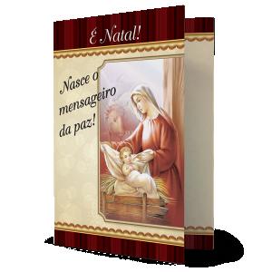 Cartão Nasce o mensageiro da paz! - MB-239