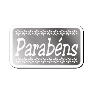 Etiquetas Decorativas - Parabéns - AP-008