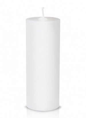 Vela para altar branca - 15x7cm - V-005