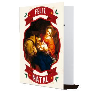 Cartão Feliz Natal...O Natal é sinônimo de carinho e gratidão- MB-229