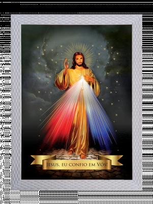 Quadro Jesus Misericordioso - QXG-001