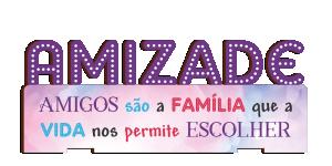Placa Decorativa de Mesa Amizade - PDM-004