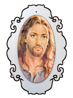 Medalhão Jesus - MSG-008