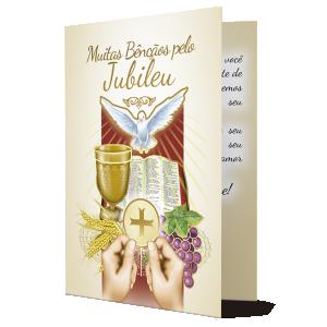 Cartão Muitas bênçãos pelo Jubileu - M-676A