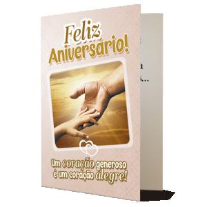 Cartão Felicidades Dizimista - D-026