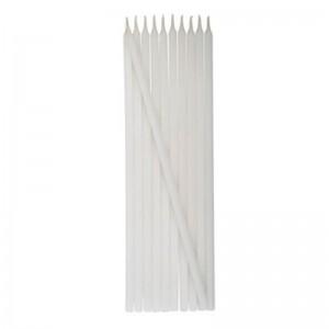 Velas palito branca - V-001