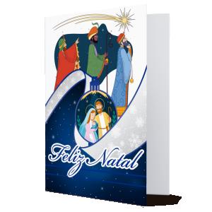 Cartão Feliz Natal.. o Natal nos convida a novos sonhos... - MB-025