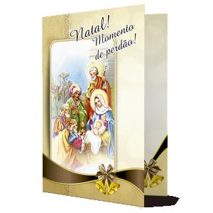 Cartão A imagem luminosa do Menino Jesus... - PN-007