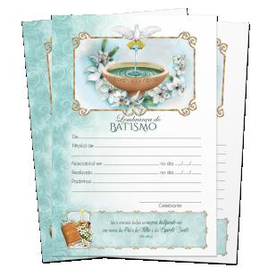 Lembrança de Batismo - LB-061