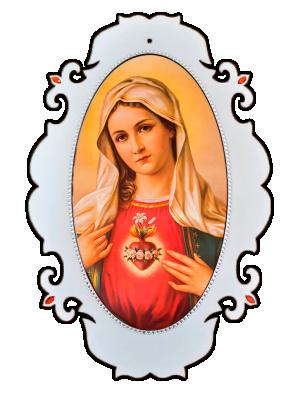 Medalhão Imaculado Coração de Maria - MSG-022