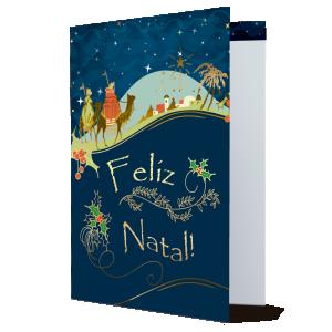 Cartão Feliz Natal.. reconhecer e acolher jesus como filho de Deus...- MB-214