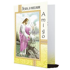 Cartão Jesus, o melhor Amigo - M-214A