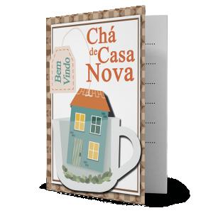 Convite Chá de Casa Nova - CV-080