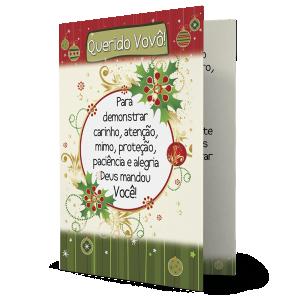 Cartão No coração do vovô... - MB-100