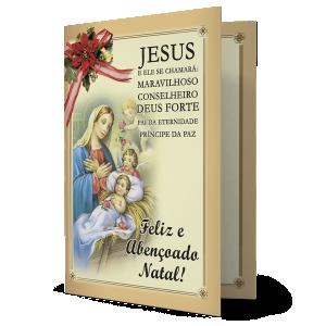 Cartão Jesus, Pai da eternidade, principe da Paz - MB-233