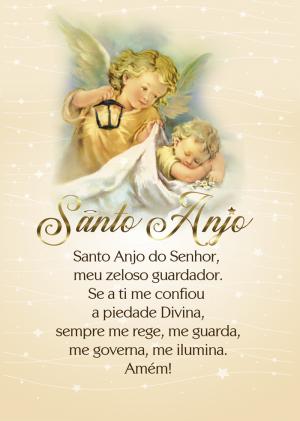 Pôster Santo Anjo - 10 unidades - PA4-038