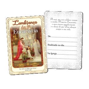 Recordação Eucaristia - RE-008