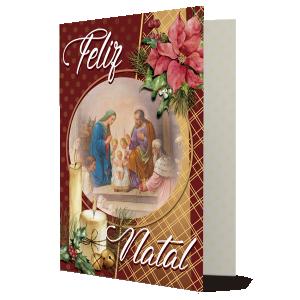 Cartão O melhor presente são amigos, sentimentos, fé, esperança... - PN-001