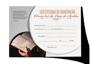 Certificado de Ordenação - CEP-031