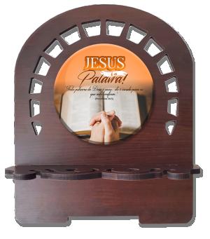 Porta Bíblia P Jesus é a Palavra - PBP-005