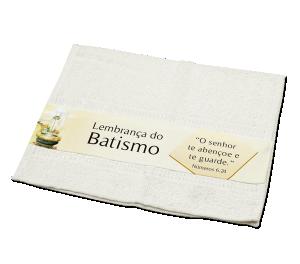 Toalha de Batismo - TO-001