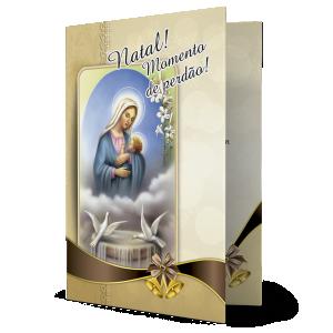 Cartão Natal momento de perdão - MB-230