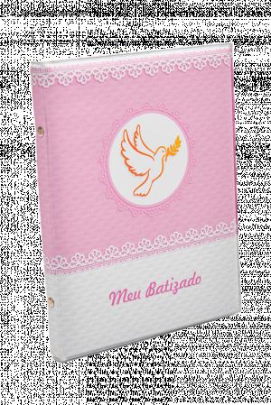Álbum Batismo Rosa - AL-004