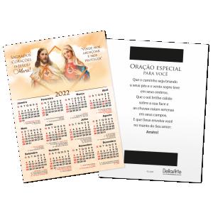 Calendário Postal Sagrados Corações - PCL-002