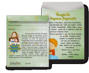 Envelopes Dizimista - ED-002
