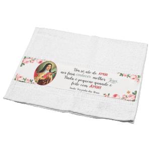 Toalha Santa Terezinha das Rosas  -TO-027