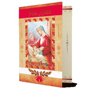 Cartão Feliz Natal...Que o Natal se transforme num eterno dia de Paz e Generosidade - MB-249