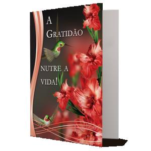 Cartão A Gratidão nutre a vida! - M-513