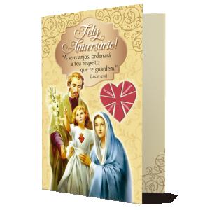 Cartão Dizimista A seus anjos, ordenará a teu respeito que te guardem - D-015