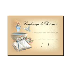Lembrancinhas Batismo - LF-001