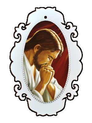 Medalhão Jesus Orando - MSM-032