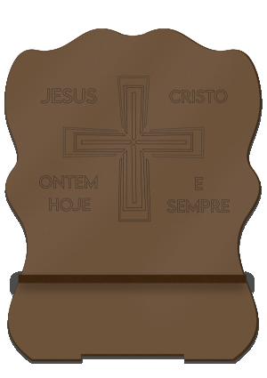 Porta Bíblia M Cruz - PBM-001