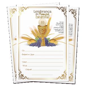 Lembrança de Eucaristia - LB-063