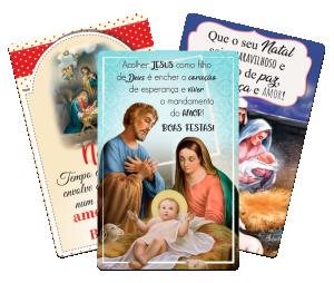 Kit Imã de geladeira Natal Católico - IM-012