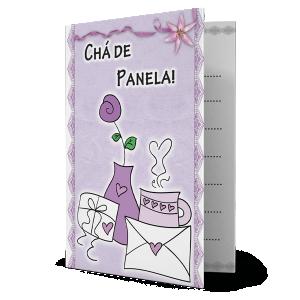 Convite Chá de Panela - CV-001