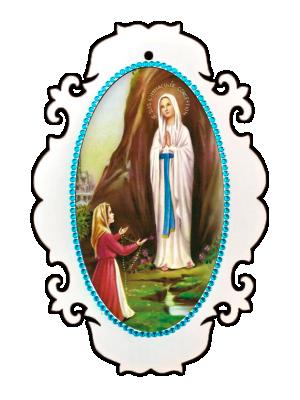 Medalhão N Sra de Lourdes - MSM-041