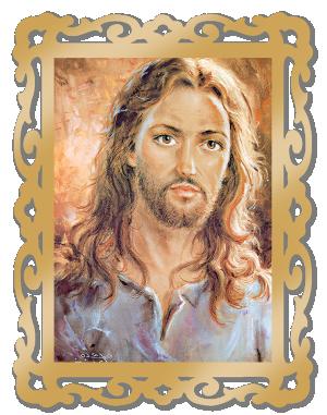 Quadro MDF Jesus - QG-008
