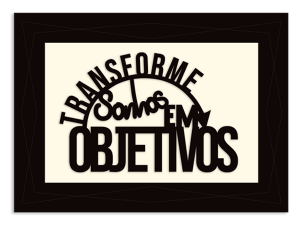 Quadros com Frases - QMF-059