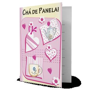 Convite Chá de Panela - CV-002