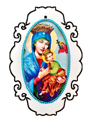 Medalhão N Sra do Perpetuo Socorro - MSM-003
